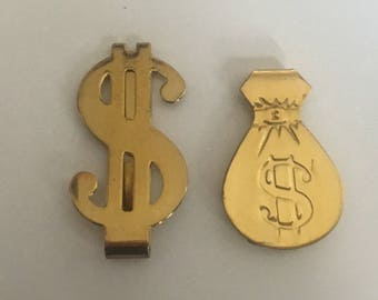 Vintage Money Clips/Holder