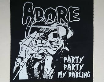 Adore Delano Back Patch