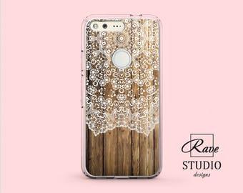 Wood phone case Pixel 2 xl case wood Mandala case Pixel 2 case wood Ornament cover Phone case mandala Wooden decor Mandala ornament Silicone