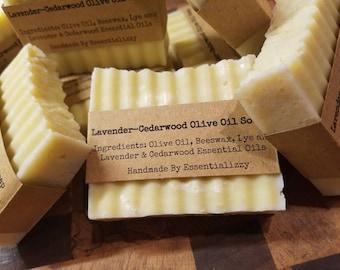 Lavender - Cedarwood Olive Oil Soap