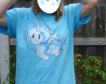 SALE: Blue Unicorn T-Shirt