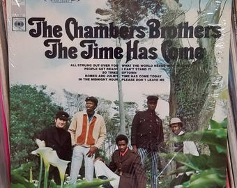 The Chambers Brothers The Time Has Come RnB LP Columbia Records CS 9522 Burt Bacharach George Chambers Wilson Pickett
