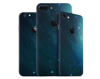 Space iPhone case Skin - Galaxy iPhone case Skin for iPhone 7, 7 Plus, 6, 6 Plus, SE, 5, 4