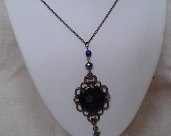 "necklace ""starry night"""