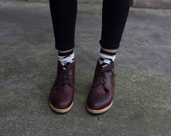 SAMPLE SALE - Mid Derby Boot - Size 9/9.5 US Womens