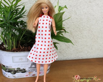 Dress for Barbie or other doll. Hand made