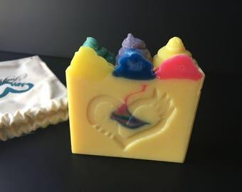 Rainbow Bright Soap