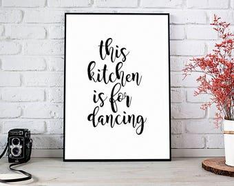 Wall Art Kitchen kitchen wall art | etsy