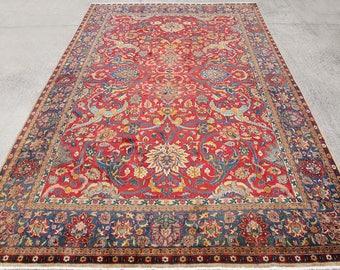Big Size Jaipur Rug, Persian Rug, Boho Rug, Vintage Rug, Indian Rug