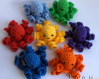 Octopus knitted