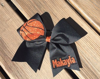 Personalized Basketball Cheer Bow