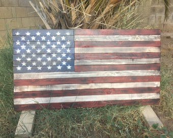 American Flag Art. Wooden American Flag. Rustic American Flag. Wood American Flag. Rustic Wood Flag. Barn wood flag, Christmas Gift