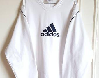 Vintage 90's - 00 Adidas Sweatshirt Size XXL (XL/XXL) like new.