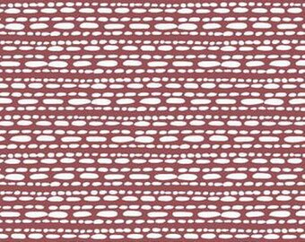 FAT QUARTER fabric exclusive MARSALA hawthornthreads