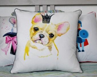 The King Bulldog 40x40cm Cushion cover