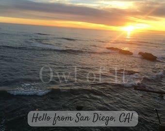 Downloadable San Diego Postcard