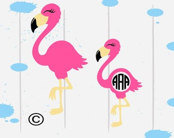 Flamingo svg, Summer svg, Beach svg, Tropical svg, Sea svg, SVG Files, Cricut, Cameo, Cut file, Files, Clipart, Svg, DXF, Png, Pdf, Eps