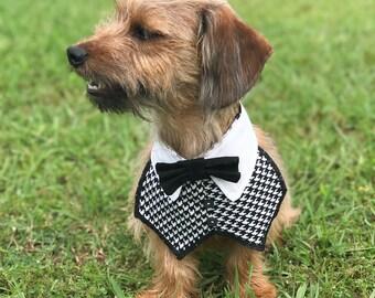 Dog Wedding Attire - Dog Tuxedo - Dog Tuxedo Collar - Dog Bow Tie - Dog Bowtie Collar - Dog Bowties - Dog Bowtie - Dog Bow Tie Wedding
