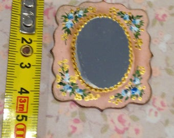 Mirror 1/12. Hand painted furnitures