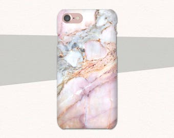 Pink Marble iPhone 8 Plus Case, iPhone 6 Plus Marble Case, iPhone 6 Case Marble, Pink iPhone 6S Plus, iPhone 7, iPhone SE Case Marble