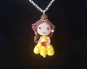 Collier Belle fimo