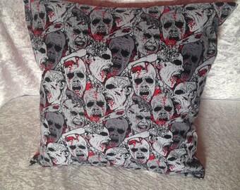 Handmade Zombie 16 Inch Cushion Cover