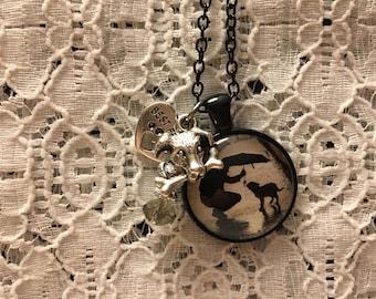 Man's Best Friend Charm Necklace/Best Friend Charm Necklace/Dog Jewelry/Dog Necklace/Dog Pendant/I Love My Dog Jewelry/Love My Dog Necklace