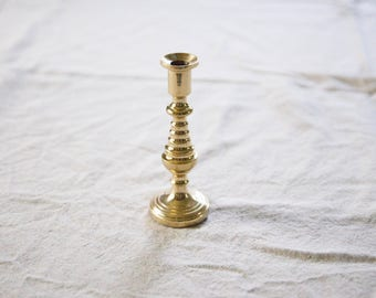 Vintage Brass Candle Holder
