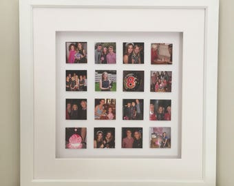 Special moments photo picture, 3D photo picture, Personalised photo 3D Box Frame, Personalised photo collage, Photo collage gift