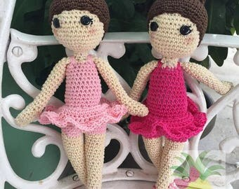 Crochet Ballerina Amigurimi
