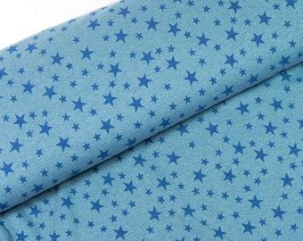 Sweat star turquoise melange