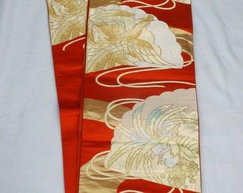 Vintage Silk Japanese Obi
