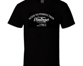 Aged To Perfection Dark Back T Shirt