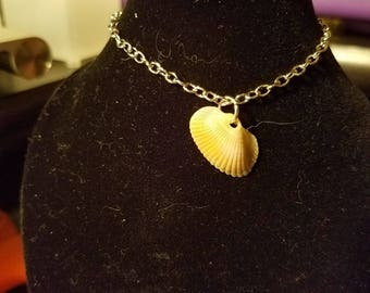 Simple BJD Seashell Necklace