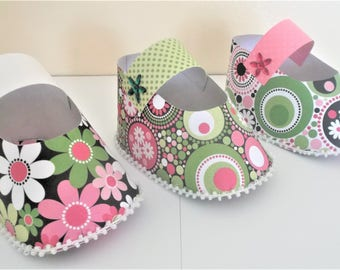 Mary Jane shoe favors, party shoe favors, baby shoe favor, Set of 12