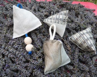 Set of four ornaments for Christmas tree
