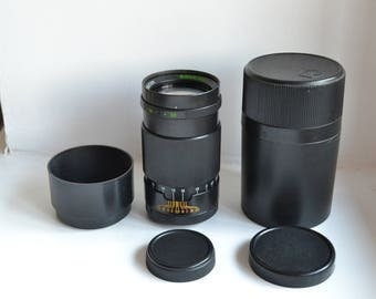JUPITER-37A 3.5/135 Russian USSR lens M42 S/N 8365366, with case!