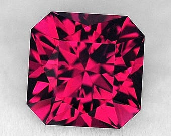 Red Garnet Rhodolite 2.62 ct Tanzania