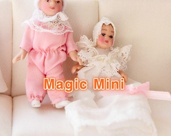 Dolls House Miniature Baby dolls