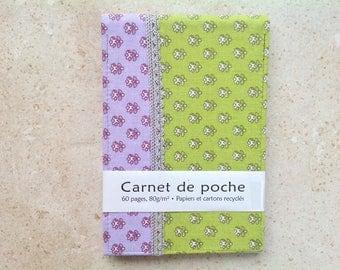 """Pistachio"" pocket notebook"