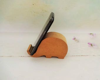 Mobile Phole Holder, Decoupage iPhone Stand, Mobile Phone Stand, MDF iPhone Stand, DIY Smart Phone Stand, Smart Phone Stand