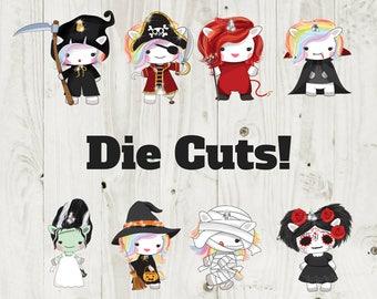 Die Cut Stickers Halloween Die Cuts