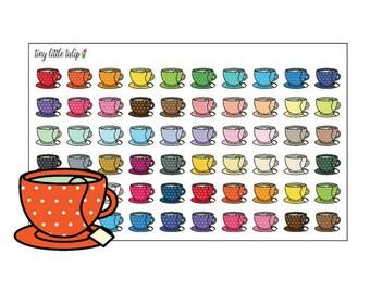 Planner Stickers Tea Cups