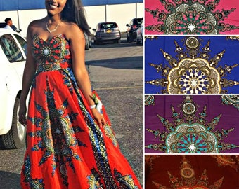 Custom Sweetheart Neckline Dashiki/Angelina Ball Gown  ( Prom/Wedding/Red Carpet )