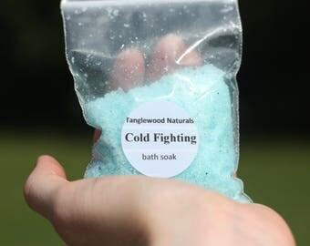 Cold Fighter Bath Soak. 2 oz.
