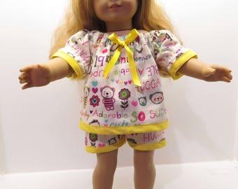 "American Girl Doll ""Baby Doll"" Pajamas"