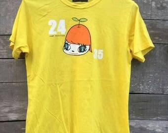 Vintage 24hour television japan cartoon akira anime streetwear 90s shirt