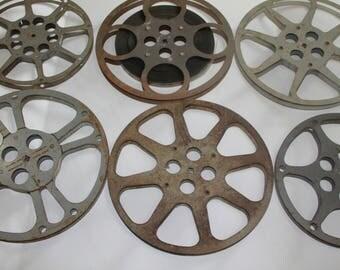 Vintage Movie Reels, Movie Reels Lot, Movie Reels, Film Reels