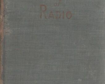 Summer Sale Fundamentals of Radio Book by Edward C. Jordan 1942