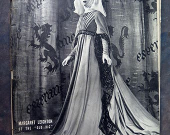 Life Magazine June 17, 1946 Margaret Leighton of the Old Vic
